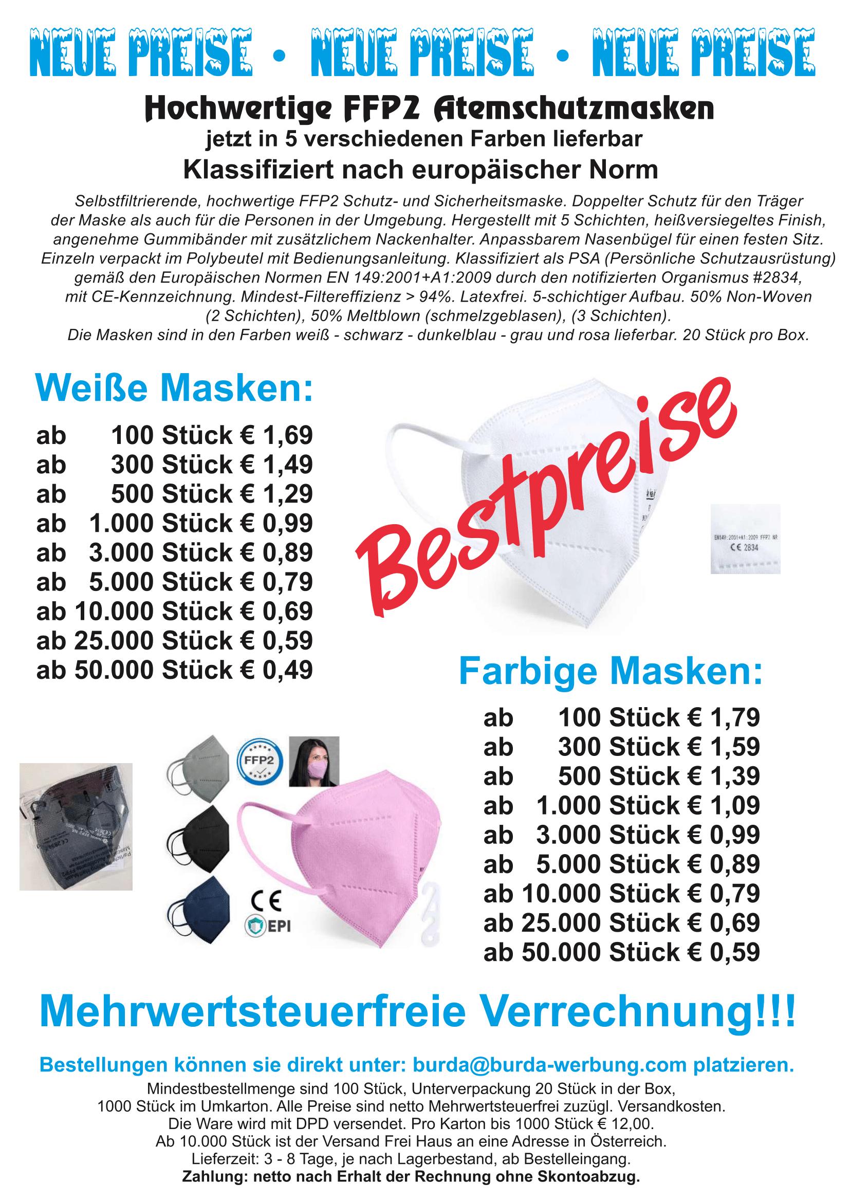 FFP2 Masken Aktion Neue Preise-1